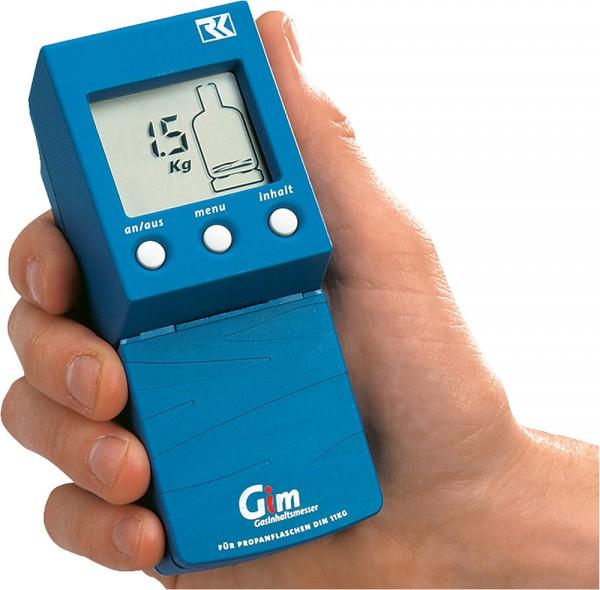 Neste-kaasun ultraäänimittauslaite suraan pullon päältä. - Kaasun pinnan ja määrän mittaus pullossa - 9977400 - 2