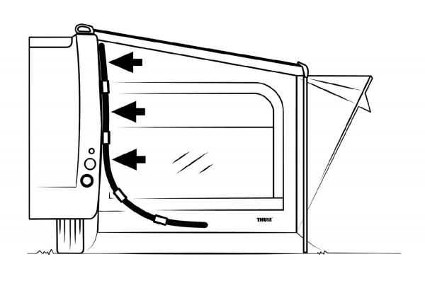 Seitenandruck-Kit Quick Fit