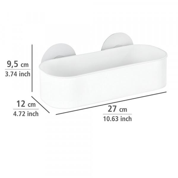Wandablage Static-Loc® Osimo weiß