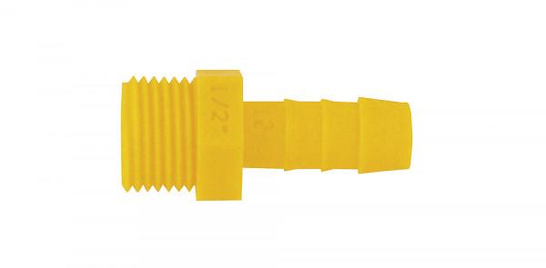 """Einschraubtülle gerade -WeißGelb® 1/2"""" x 12 mm"""