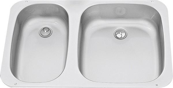 Pesuallas Dometic kaksois 575 x 370 mm - Pesu-altaat - 9973468 - 1