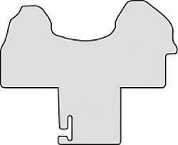 Fußmatte Gummi Mercedes Sprinter W910 ab 07/2018