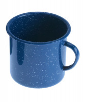 Henkelbecher Emaille 350 ml, blau