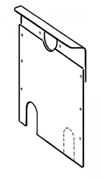 Taakaseinä Trumatic S 2200  vasen - Varaosat ja lisävarusteet - 9954536 - 2