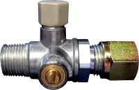 Prüfventil mit Absperreinricht 3/8' keglig x 8mm SRV