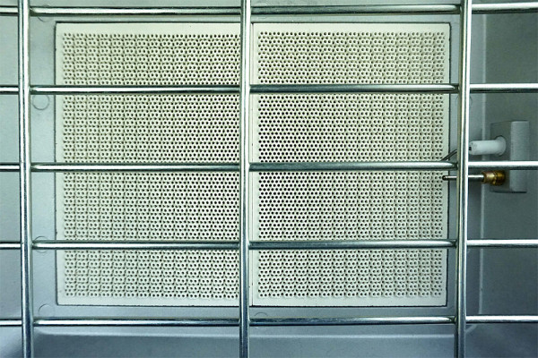 Infrarot Aufsteckstrahler BC 4200 PZ für den Betrieb im Freien