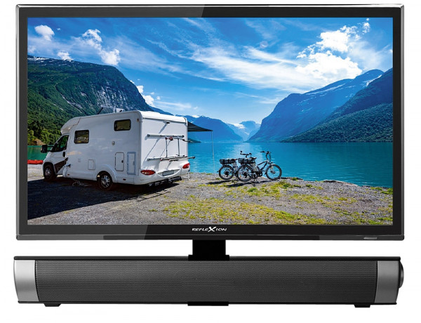 Fernseher first class edition DVD inkl. Soundbar