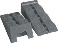 Auffahrkeil Kit Fiamma Level Up Farbe grau Inhalt 2 Stück inkl. Tasche
