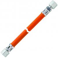 Gasschlauch 40cm DIN 4815 winterfest ---- lose -----G 1/4 LH-ÜMxRVS8x400mm