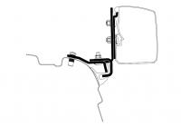 Adapter zu Wandmarkise Omnistor 3200 VW T5/T6 Minivan Brandrup Rail _LHD_