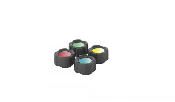 Farb Filter Set 32,5 mm für Taschenlampe MT10