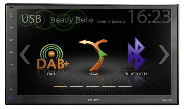 Navigationsgerät Z-N956 inkl. Navigationskarte