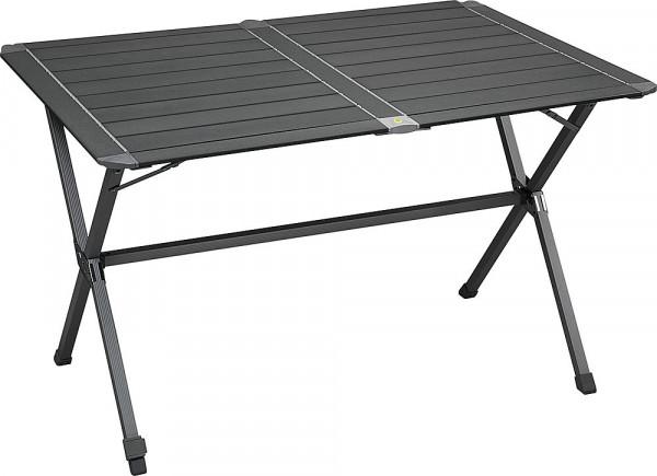 Klapptisch Titan mit rollbarer Tischplatte, grau