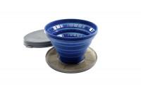Kaffeefilter Collapsible Javadrip blau