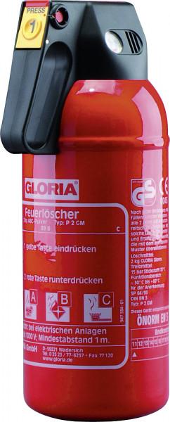 Auto-Feuerlöscher P 2 GM mit Manometer
