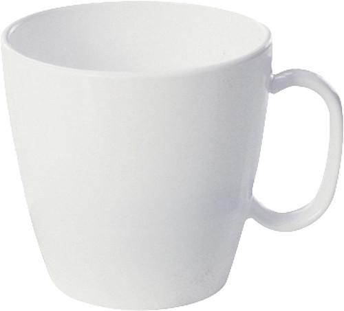 Henkelbecher Elegant weiß 230 ml