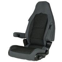 Pilotsitz S 10.1 tavoc 2 schwarz grau
