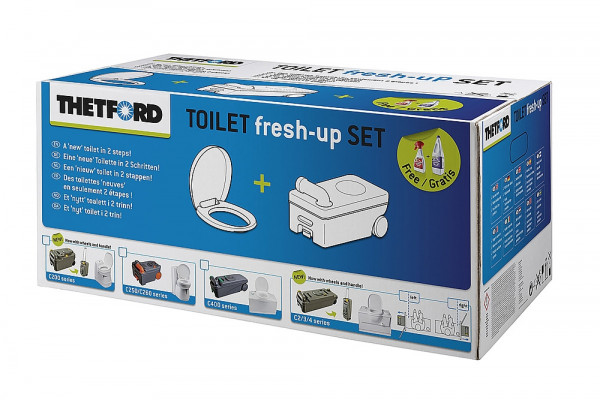 Uudistussarja Thetford Fresh up Set - WC-varaosat ja tarvikkeet - 9920506 - 3