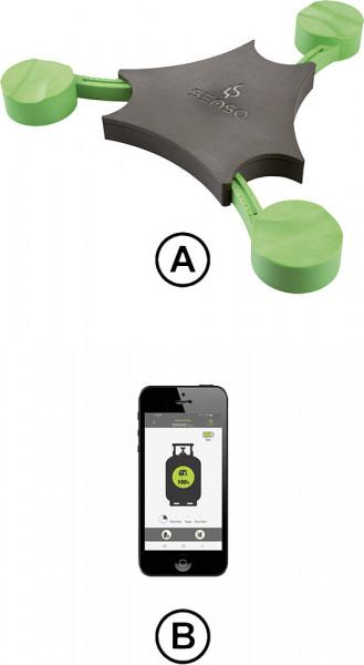 Füllstanzanzeiger Senso4s PLUS für Gasflaschen