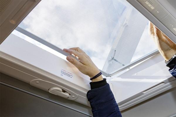 Zusatz-Fliegengitter Flynet zu Dachhaube Midi
