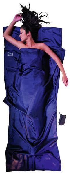 Leicht-Reiseschlafsack 200 x 90 cm Tuareg Seide Ripstop