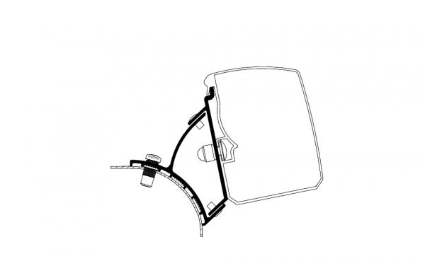Adapter zu Wandmarkise Omnistor 3200 VW T5/T6 Minivan Fixed _LHD_