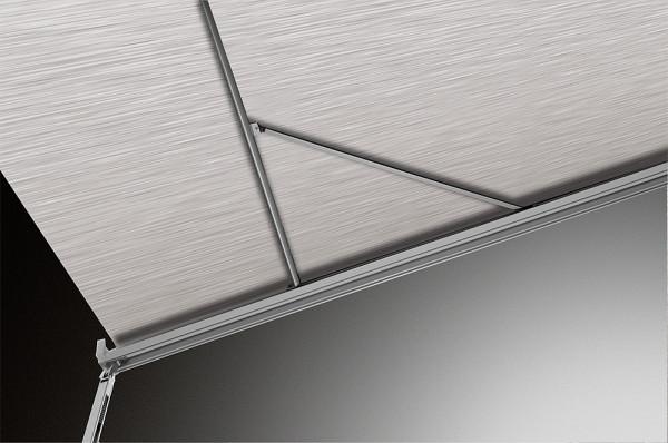 Dachmarkise Omnistor 9200 mit Motor - Gehäuse weiß