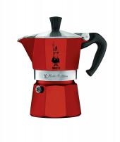 Espressokocher Moka Express rot