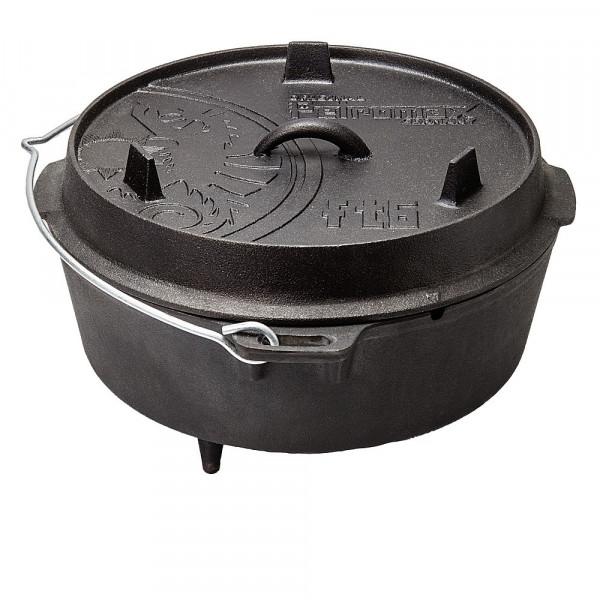 Feuertopf Dutch Oven mit Standfüßen